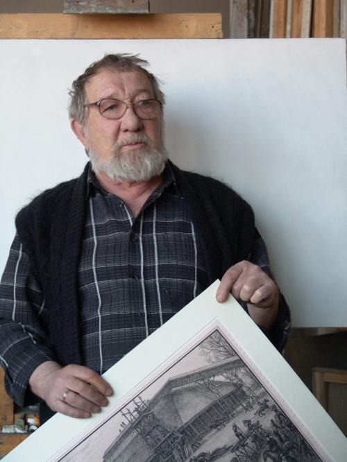 В Барнауле простятся известным алтайским художником Юрием Кабановым
