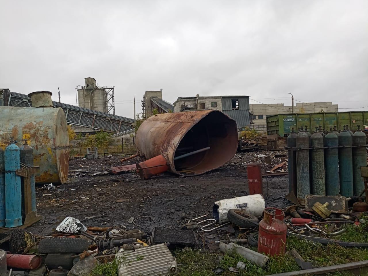 В Барнауле неосторожный сварщик погиб результате взрыва бочки из-под ГСМ