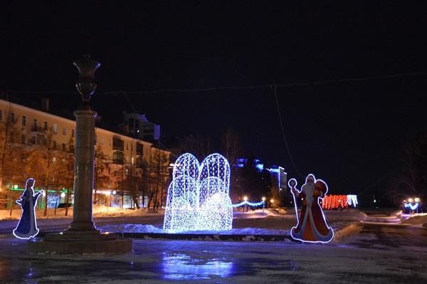ВБарнауле наСахарова обустроят новогодний городок за8,6 млн руб.