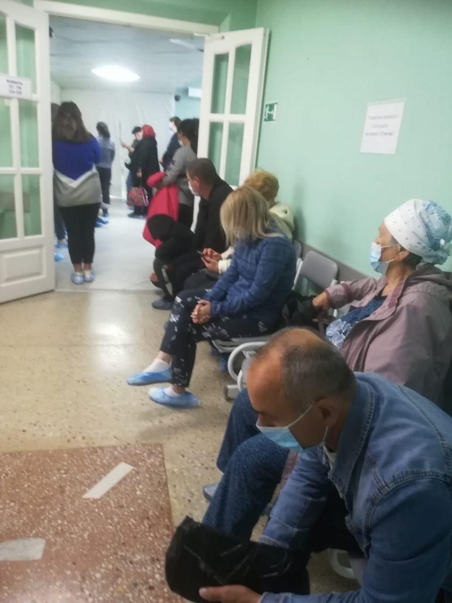 Пациенты Диагностического центра Алтайского края жалуются круглосуточные очереди КТ легких обновлено
