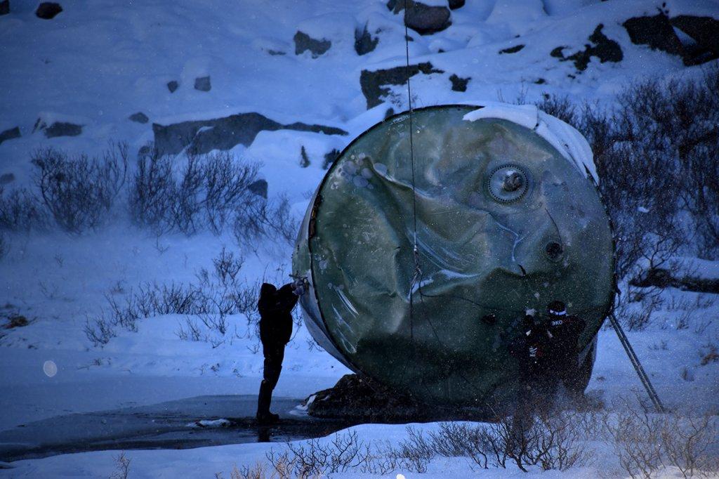 Из туристического района Республики Алтай вывезли упавшие баки ракеты-носителя Протон