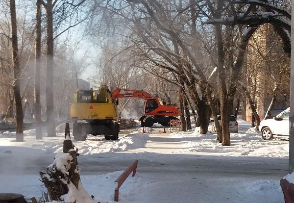 Барнаульские дома Потоке лишились горячей воды из-за повреждения сетях