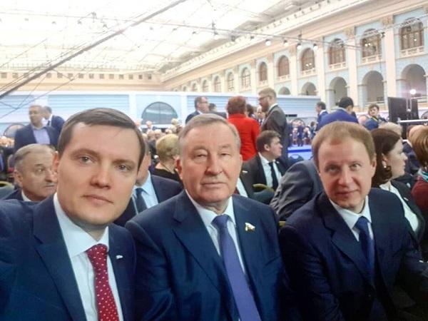 Губернатор Алтайского края засвидетельствовал свою солидарность посланием президента