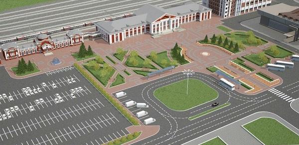 Чиновники архитекторы представили проект глобальной реконструкции железнодорожного вокзала Барнауле