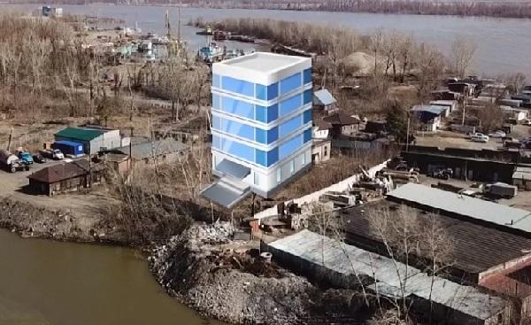 Участок территории барнаульского Ковша выставили продажу строительство высоток