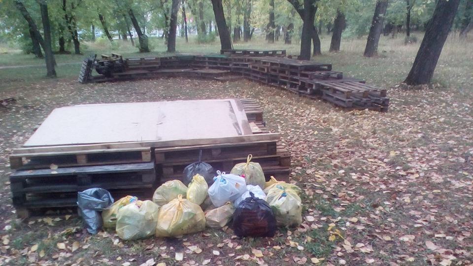 Спасатель сцены парке Изумрудный утвердился мнении ментальности барнаульцев