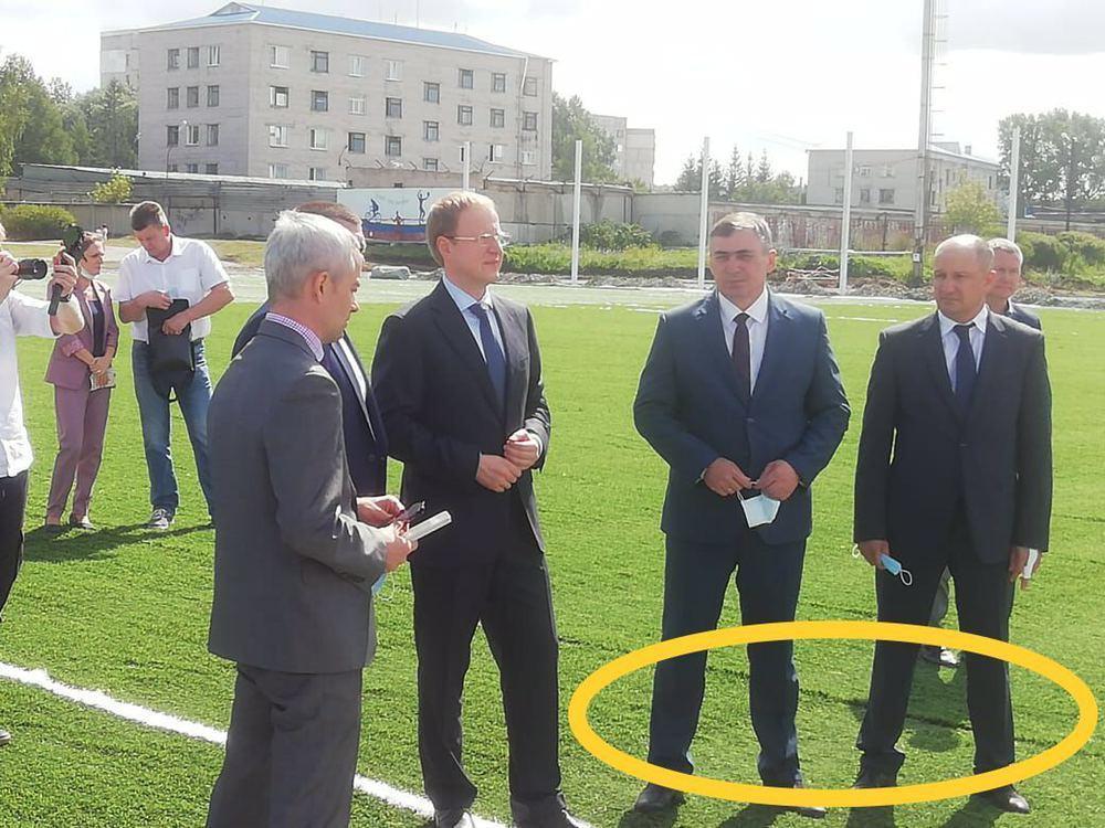 Журналистов заподозрили ангажированности после критики биполярного стадиона Заринске