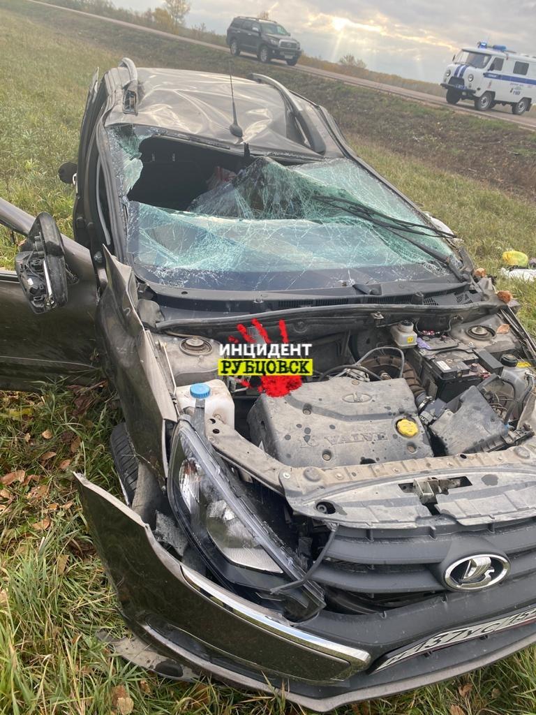 Женщина рулем погибла ДТП алтайской трассе