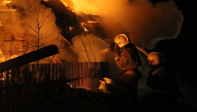 В Алтайском крае прошедшие двое суток пожары унесли жизни троих человек