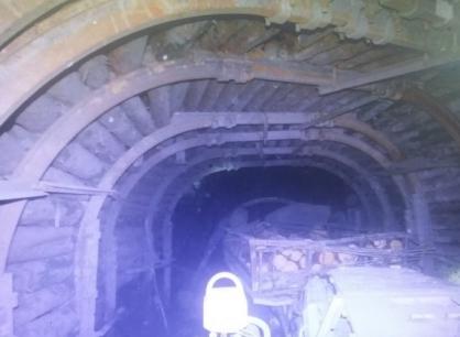 На Корбалихинском руднике результате обрушения породы шахте погиб человек