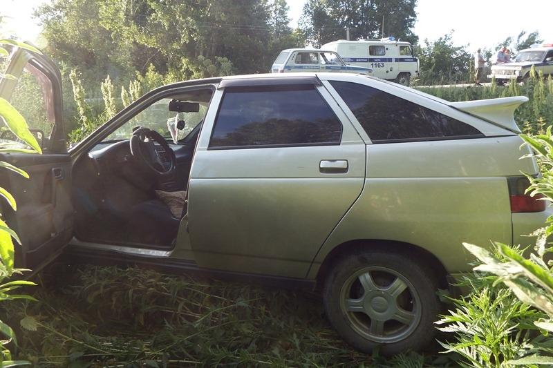 Нетрезвая автоугонщинца Змеиногорска вылетела кювет попытке скрыться полиции