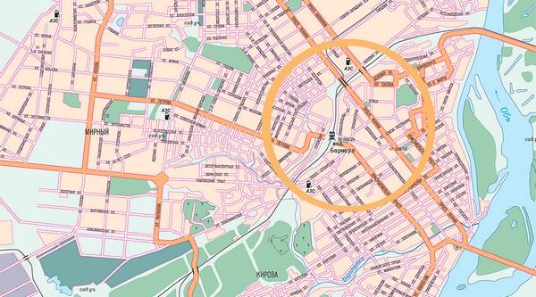 Сегодня утром в твиттере появилась информация, что в Барнауле строят свою кольцевую дорогу.
