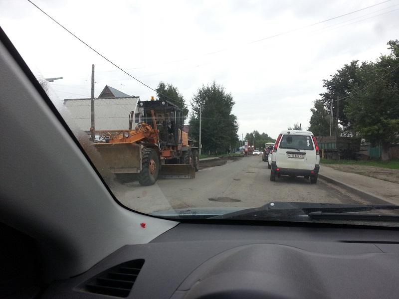 Ремонт ул.Мамонтова начали после того, как туда отказались ездить автобусы