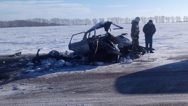 Рубцовск: Две женщины имужчина погибли вДТП натрассе Барнаул
