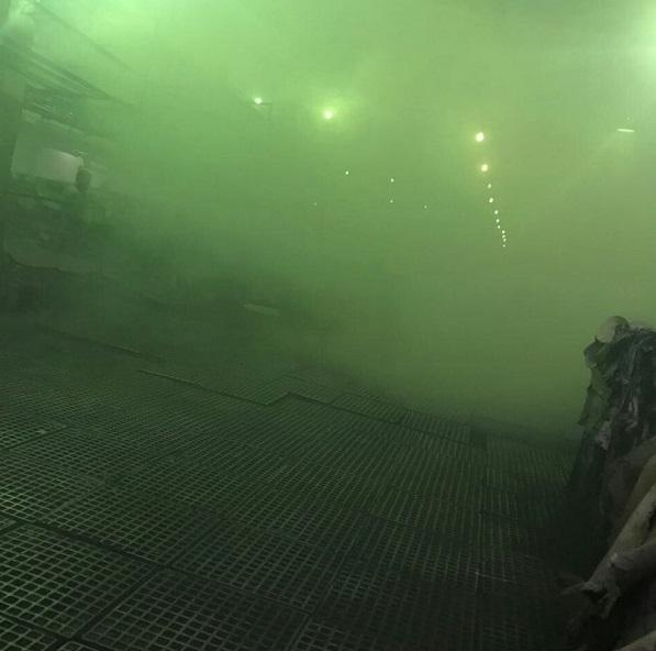 Пожар нашинном заводе вБарнауле