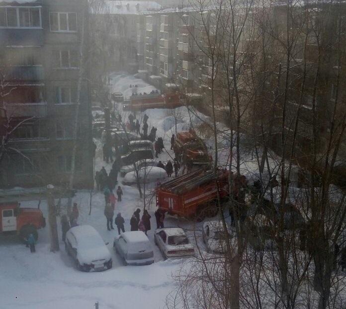 Детали пожара вжилом доме наулице Попова вБарнауле