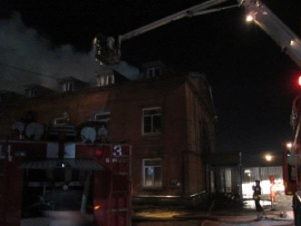 ВБарнауле произошел серьезный пожар вобщежитии