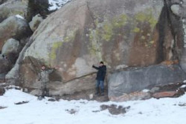 ВОнгудайском районе найдены самые большие петроглифы Горного Алтая