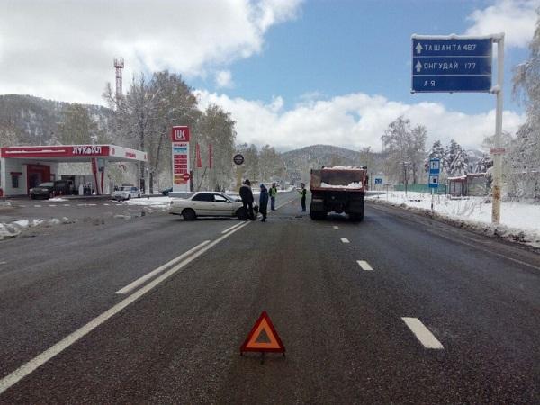 Натрассе Барнаул-Рубцовск случилось ДТП, умер человек