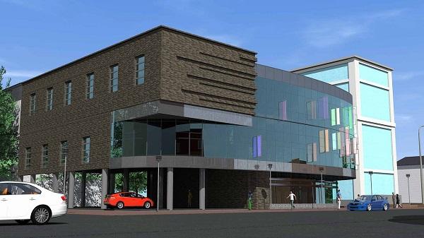Бизнес-центр стеклянном овале может появиться месте легендарного Барнаульского разлома