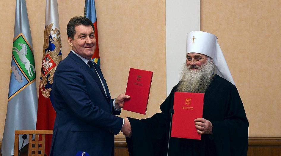 В духе времени власти Барнаула передали Церкви права здание единственного городе планетария