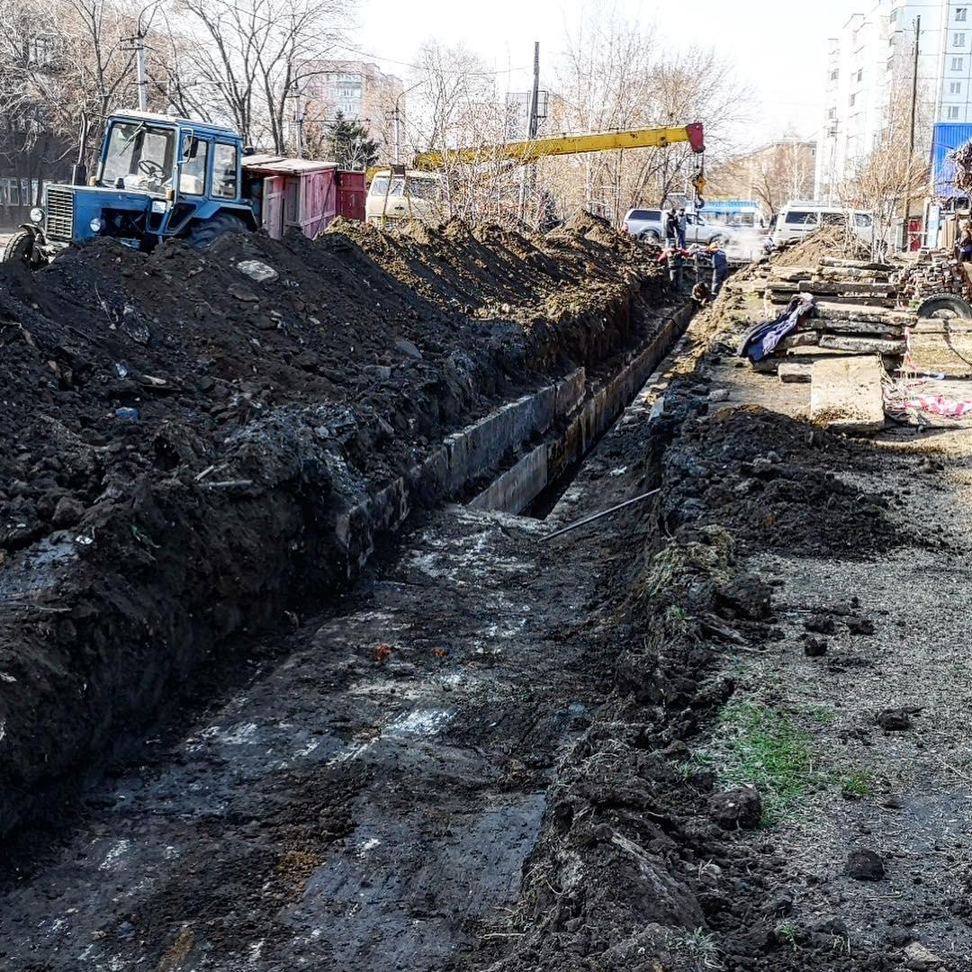 Жители многоквартирных домов Рубцовске несколько дней проведут горячей воды из-за порыва