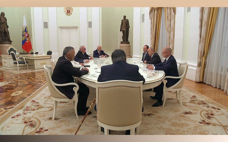 Владимир Путин надеется поддержку врио главы Республики Алтай стороны Александра Бердникова