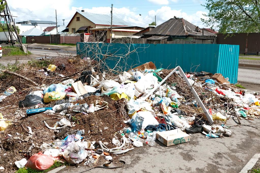 Опальный алтайский Минстрой раскритиковал бийских чиновников содержание мусорных площадок