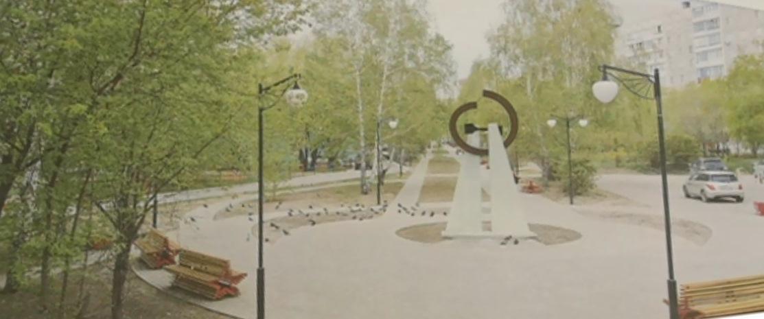 В Барнауле устанавливают памятник блокадному Ленинграду виде метронома