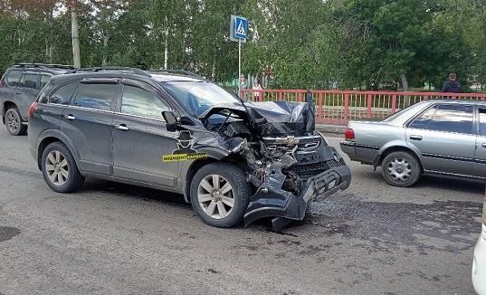 Две пассажирки барнаульского автобуса попали больницу из-за ДТП