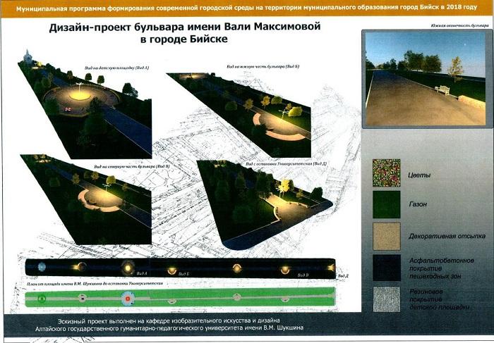 Фонтанирующая идеями администрация Бийска готова потратить млн рублей преображение очередного бульвара
