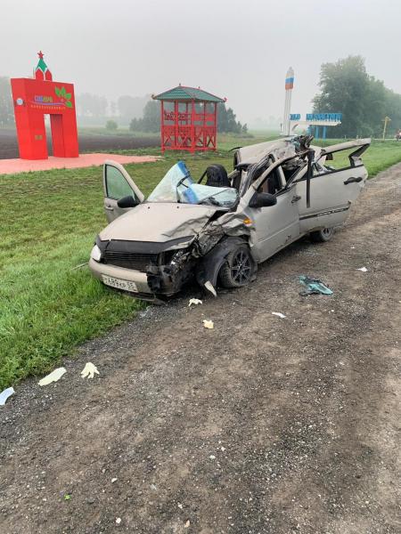 В страшной аварии задымленной трассе Барнаула Новосибирск погибла женщина