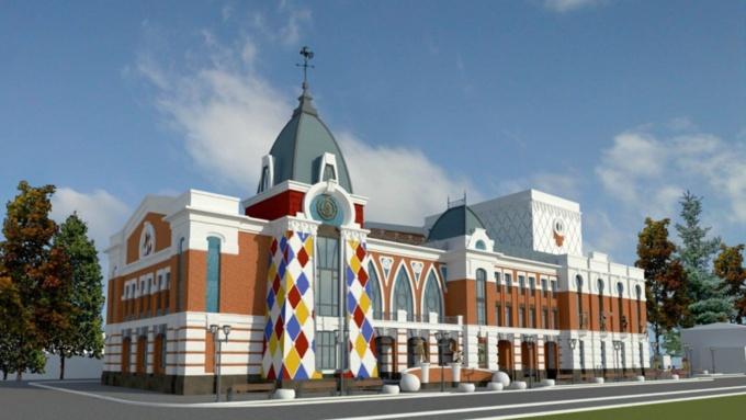 Для барнаульского театра кукол Сказка закупят метровые фасадные часы 500 тысяч рублей