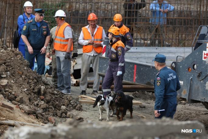 Господь милостив рубцовские монтажники чудом пострадали обрушении части здания Новосибирске