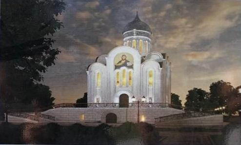 Барнаульская епархия планирует полтора года возвести храм городском парке