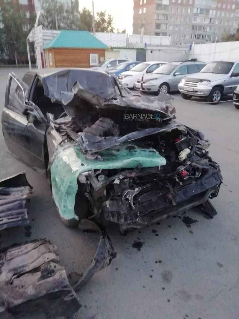 Две молодые жительницы Алтайского края погибли жестоких авариях Барнауле Бийске