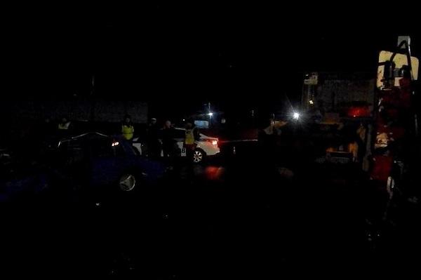 Двое пассажиров копейки скончались месте после столкновения дорожным катком Бийске