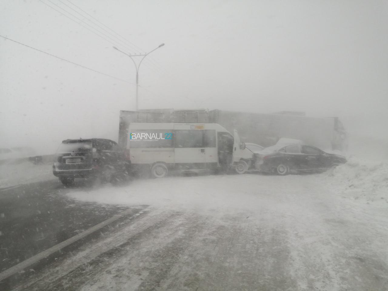 Снежный Апокалипсис спровоцировал массовые и отключения электричества Барнауле обновлено