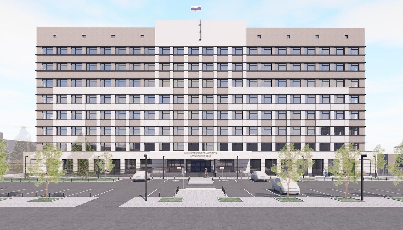 Офиснику краевого Минтранса Барнауле придадут современный лоск правительственном стиле