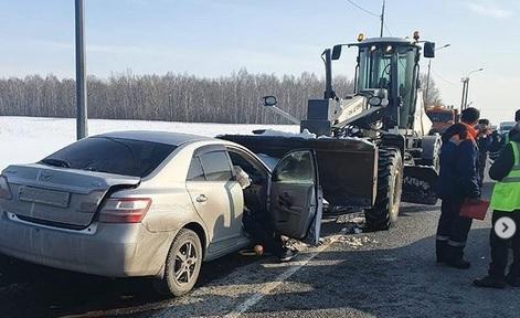 Пешеход скончался после жесткой аварии семеркой Чуйском тракте