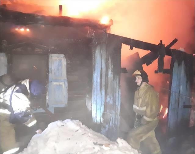 Пожар Бийске унес жизни ребенка двоих взрослых