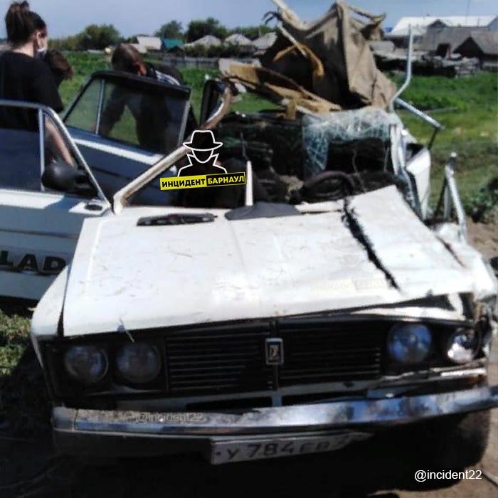 Житель алтайского села погиб ДТП вине своего пьяного товарища