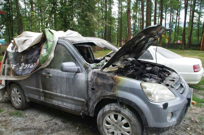 Депутату Госсобрания Республики Алтай придется заплатить тысяч рублей чужое сгоревшее авто