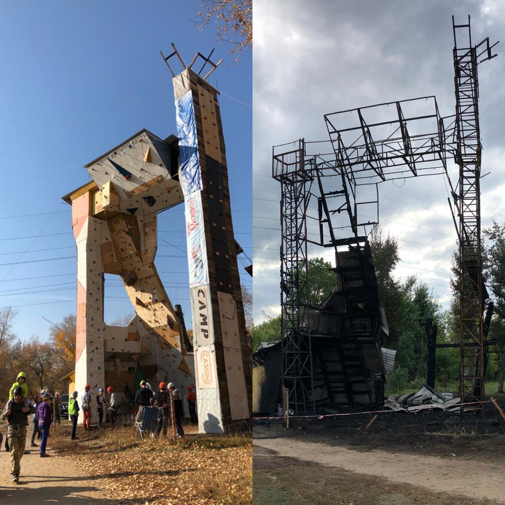 Алтайская федерация альпинизма оценила ущерб пожара парке Изумрудный сотни тысяч рублей