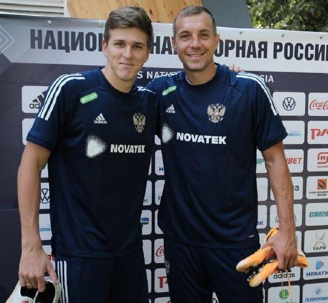 Воспитанник барнаульского Динамо Александр Соболев вошел сборную России после разговора Артемом Дзюбой