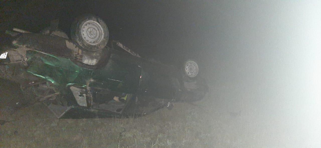 Молодой алтайский автомобилист прав погиб ДТП-перевертыше сумеречной трассе