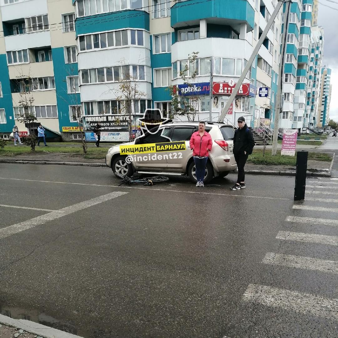 Полиция изучит обстоятельства со сбитым переходе малолетним велосипедистом Барнауле