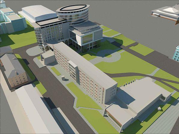 Скандальный план строительства корпуса АлтГУ Барнауле обосновали экономикой одобрением времен позднего СССР