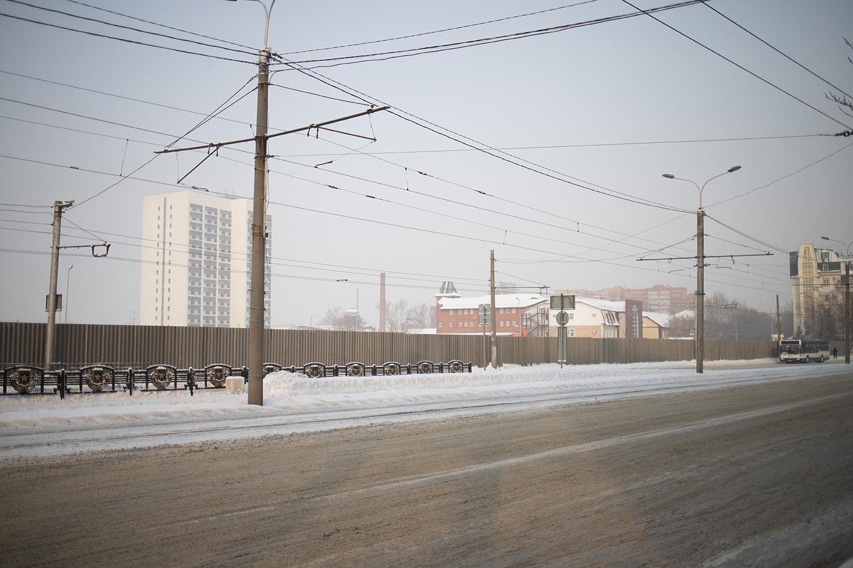 Площадь Победы Барнауле начали освобождать торговых павильонов