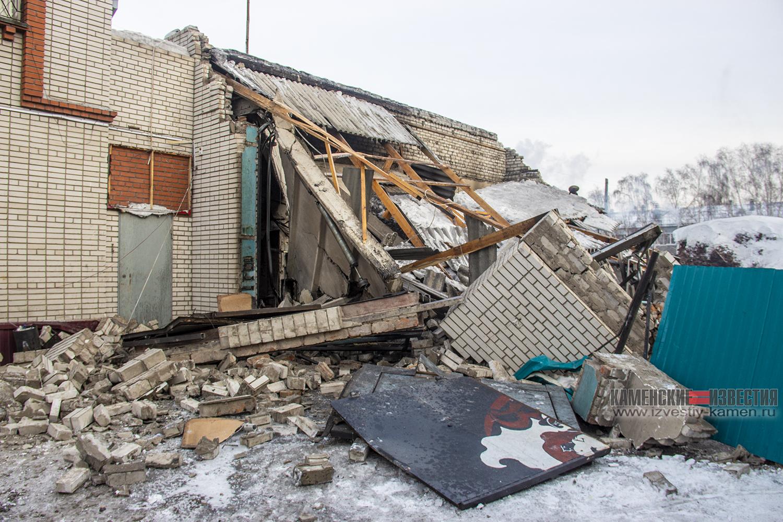 Ночной взрыв котла Камне-на-Оби уничтожил станцию техобслуживания